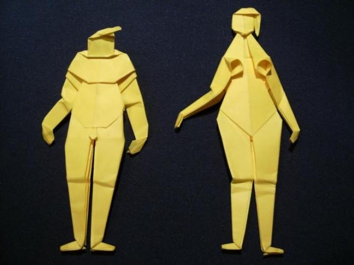 Anya Midori - www.faltsucht.de - erster Entwurf von den Modellen